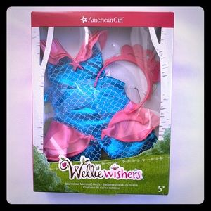 New American Girl Wellie Wishers Mermaid Outfit